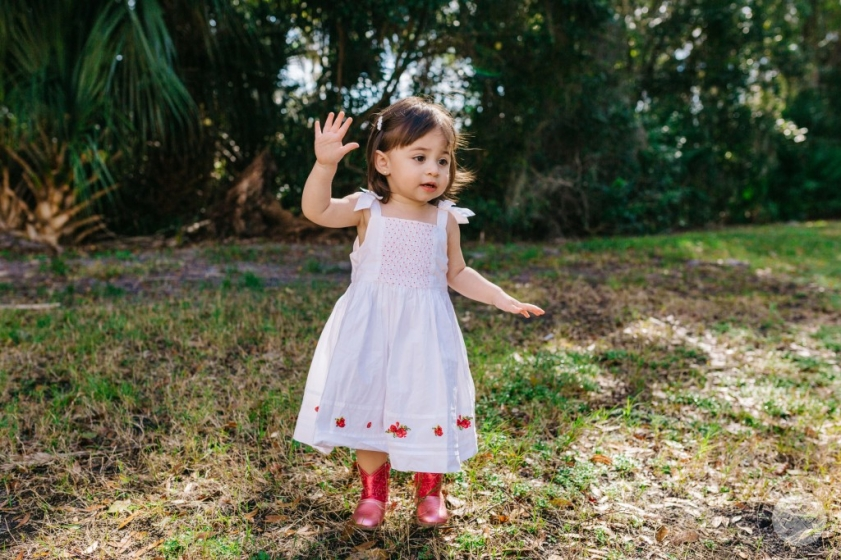 Orlando Photographer with Daughter, Penelope Anne