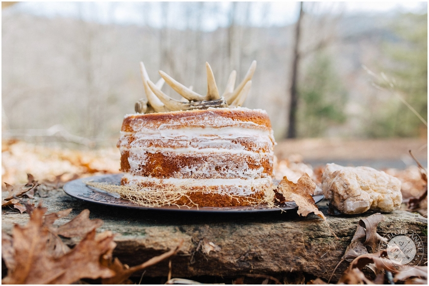 deer cake in north carolina mountains