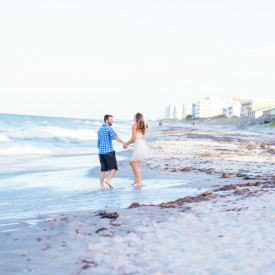 Indian Harbour Beach Florida Engagement