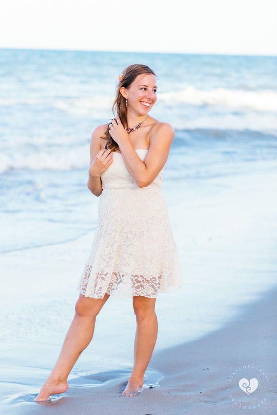 Bride at Indian Harbour Beach