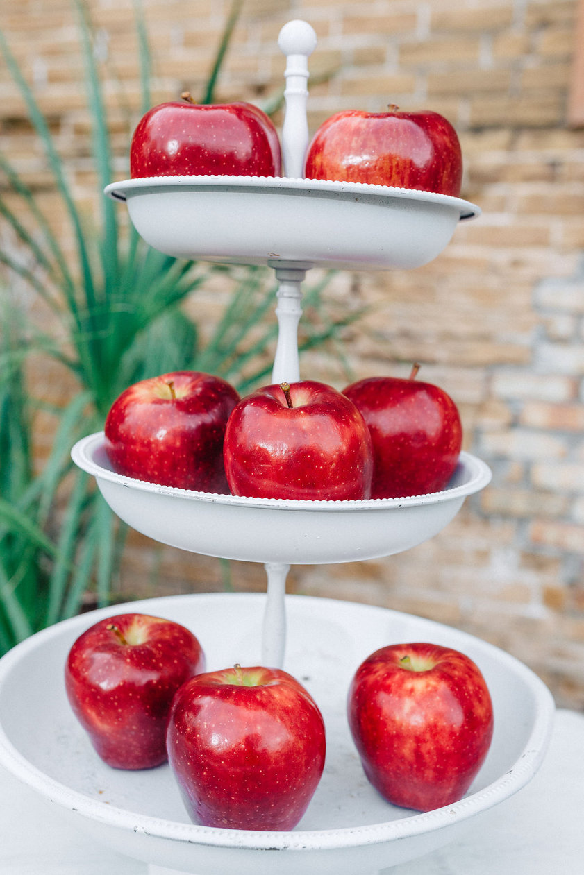 Red Delicious Apple Center Piece