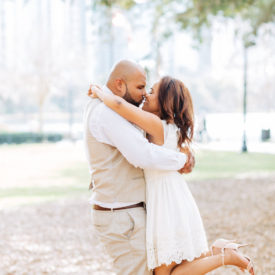 Lake Eola Elopement Session