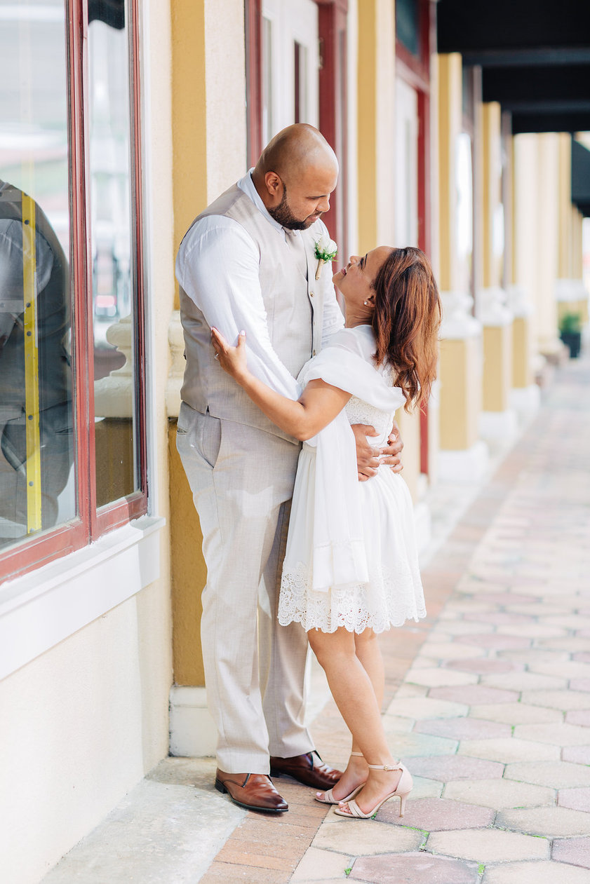 Downtown Orlando Engagement Session